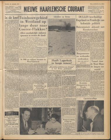 Nieuwe Haarlemsche Courant 1957-01-25