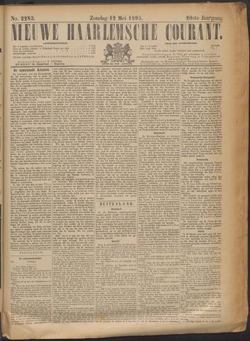 Nieuwe Haarlemsche Courant 1895-05-12