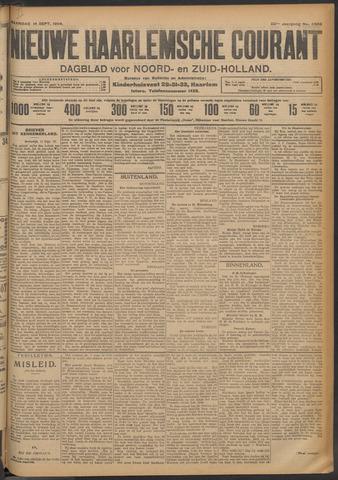 Nieuwe Haarlemsche Courant 1908-09-14