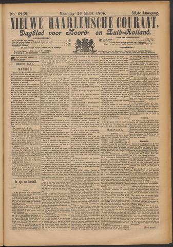 Nieuwe Haarlemsche Courant 1906-03-26