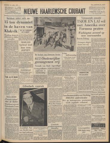Nieuwe Haarlemsche Courant 1955-04-25