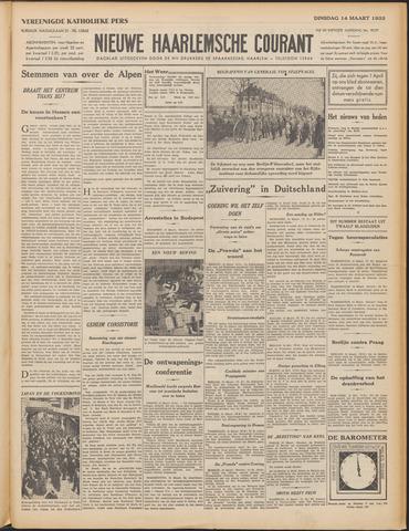 Nieuwe Haarlemsche Courant 1933-03-14