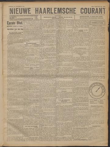 Nieuwe Haarlemsche Courant 1921-11-22