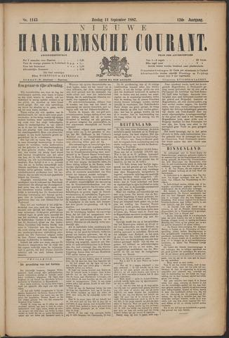 Nieuwe Haarlemsche Courant 1887-09-11