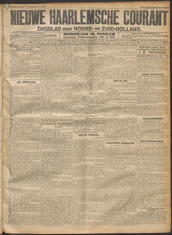 Nieuwe Haarlemsche Courant 1917-02-15