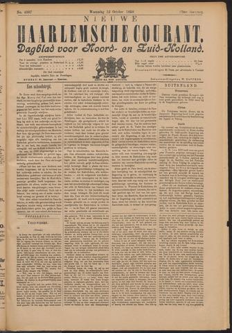 Nieuwe Haarlemsche Courant 1898-10-12