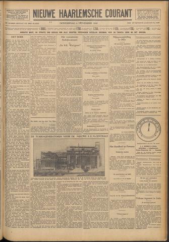 Nieuwe Haarlemsche Courant 1930-11-06