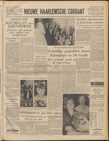 Nieuwe Haarlemsche Courant 1960-03-25