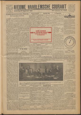 Nieuwe Haarlemsche Courant 1922-09-21