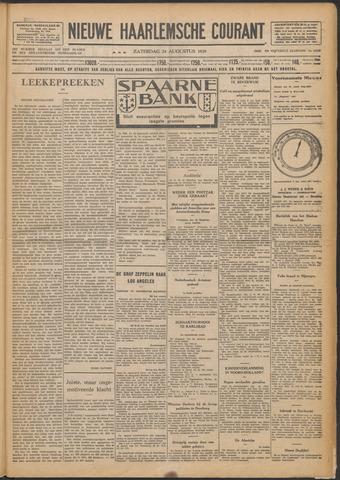 Nieuwe Haarlemsche Courant 1929-08-24