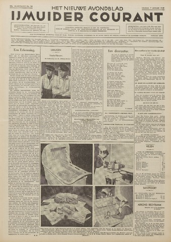 IJmuider Courant 1938-01-07
