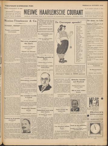 Nieuwe Haarlemsche Courant 1932-10-21