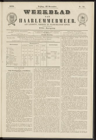 Weekblad van Haarlemmermeer 1870-12-23