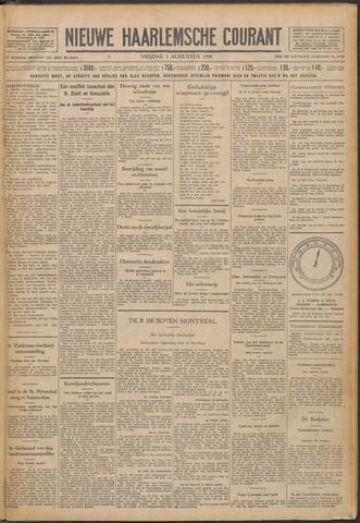 Nieuwe Haarlemsche Courant 1930-08-01