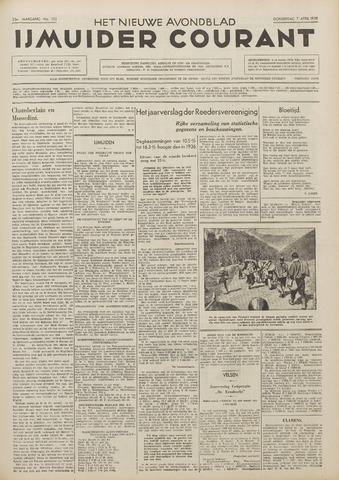 IJmuider Courant 1938-04-07