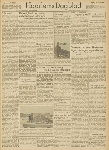 Haarlem's Dagblad 1947-01-10