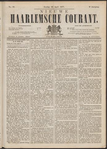 Nieuwe Haarlemsche Courant 1877-04-22
