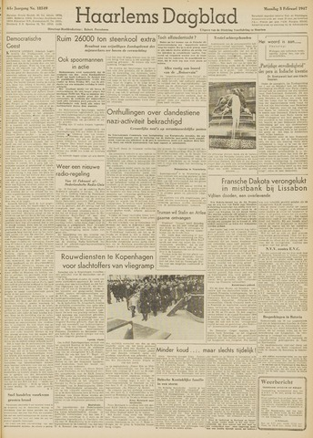 Haarlem's Dagblad 1947-02-03