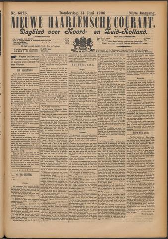 Nieuwe Haarlemsche Courant 1906-06-14