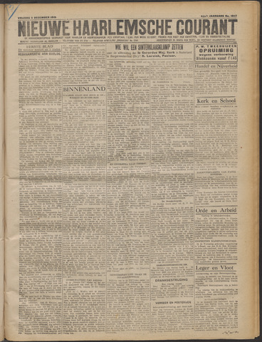 Nieuwe Haarlemsche Courant 1919-12-05