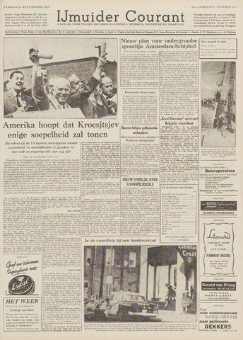 IJmuider Courant 1959-09-25