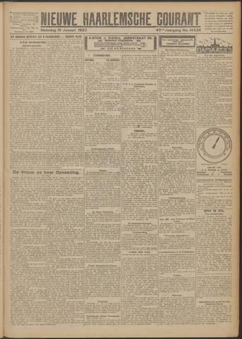 Nieuwe Haarlemsche Courant 1923-01-15