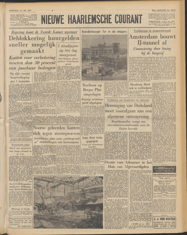 Nieuwe Haarlemsche Courant 1957-05-29