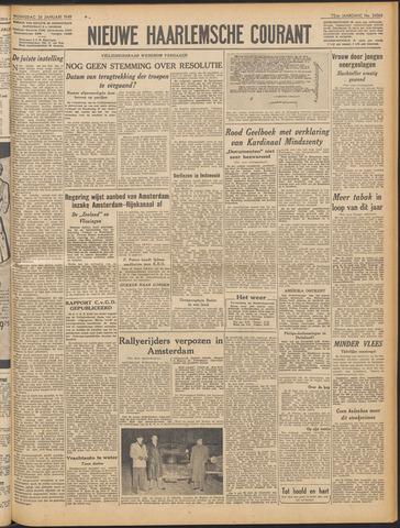 Nieuwe Haarlemsche Courant 1949-01-26
