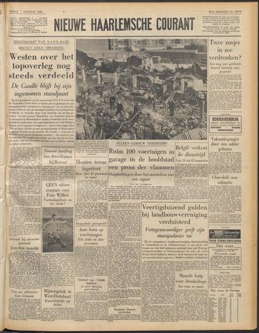 Nieuwe Haarlemsche Courant 1958-08-01