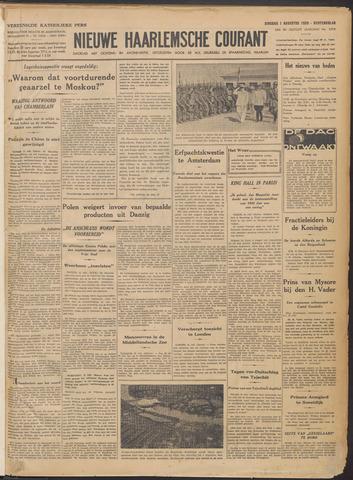 Nieuwe Haarlemsche Courant 1939-08-01
