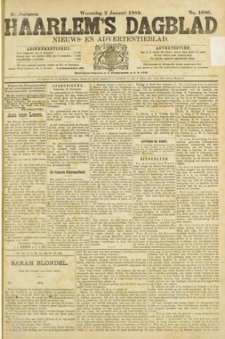 Haarlem's Dagblad 1889