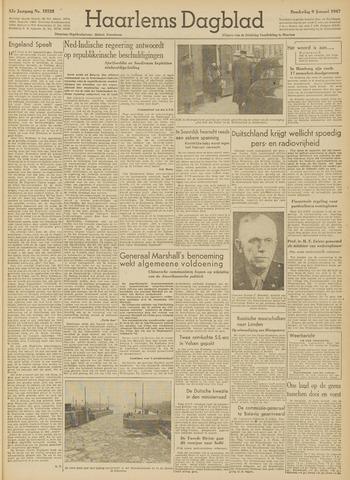 Haarlem's Dagblad 1947-01-09