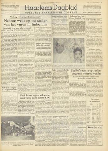 Haarlem's Dagblad 1954-02-23