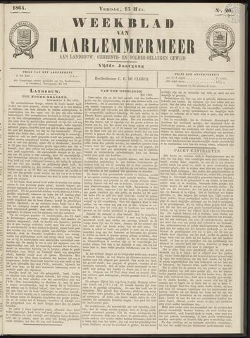 Weekblad van Haarlemmermeer 1864-05-13