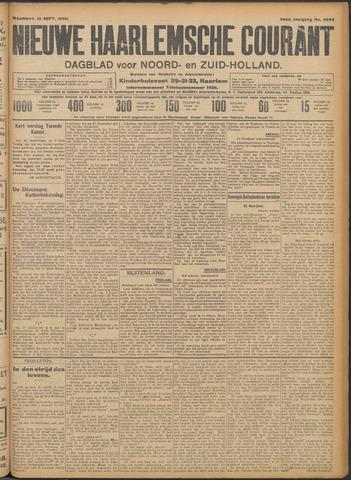 Nieuwe Haarlemsche Courant 1909-09-13