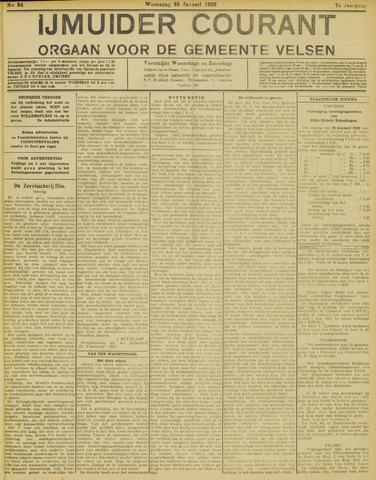 IJmuider Courant 1922-01-25