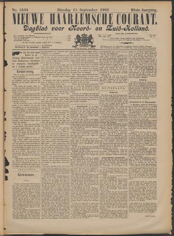 Nieuwe Haarlemsche Courant 1903-09-15