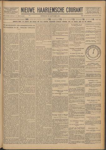 Nieuwe Haarlemsche Courant 1931-01-20