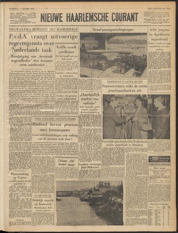 Nieuwe Haarlemsche Courant 1958-10-01