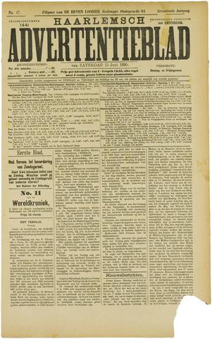Haarlemsch Advertentieblad 1895-06-15