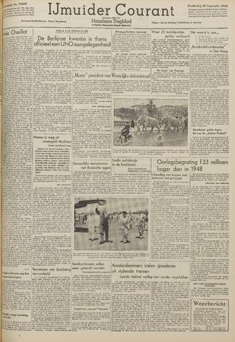 IJmuider Courant 1948-09-30