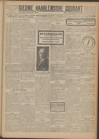 Nieuwe Haarlemsche Courant 1923-12-01