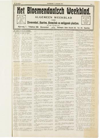 Het Bloemendaalsch Weekblad 1914
