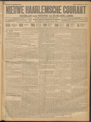 Nieuwe Haarlemsche Courant 1914-02-20