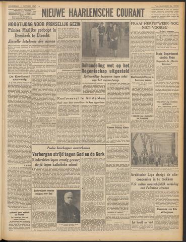 Nieuwe Haarlemsche Courant 1947-10-09