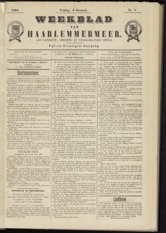 Weekblad van Haarlemmermeer 1884-01-04
