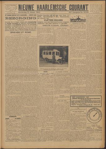 Nieuwe Haarlemsche Courant 1923-01-18