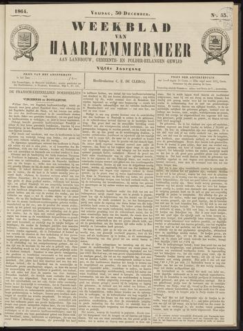 Weekblad van Haarlemmermeer 1864-12-30