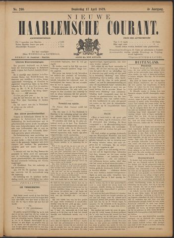 Nieuwe Haarlemsche Courant 1879-04-17