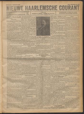 Nieuwe Haarlemsche Courant 1920-08-07